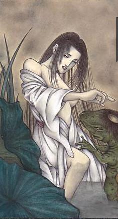 月的这一面——日本神话、妖怪和传说