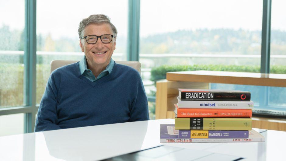 比尔·盖茨今年阅读过的6本最佳图书-书啦圈